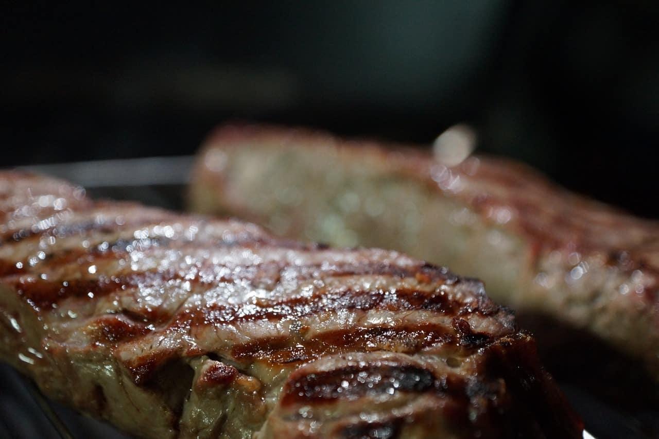 בשר אחרי צלייה